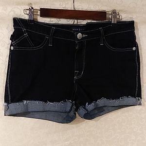 Rock & republic cut off jean shorts size 14 EUC